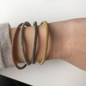Jewelry - Multicolored bracelets with magnetic clasps